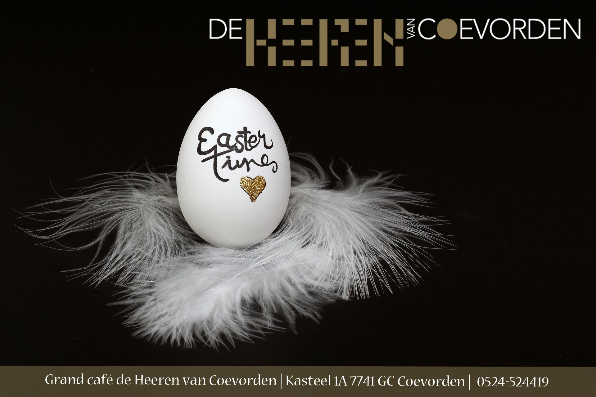pasen 2018 Grand café de Heeren van Coevorden