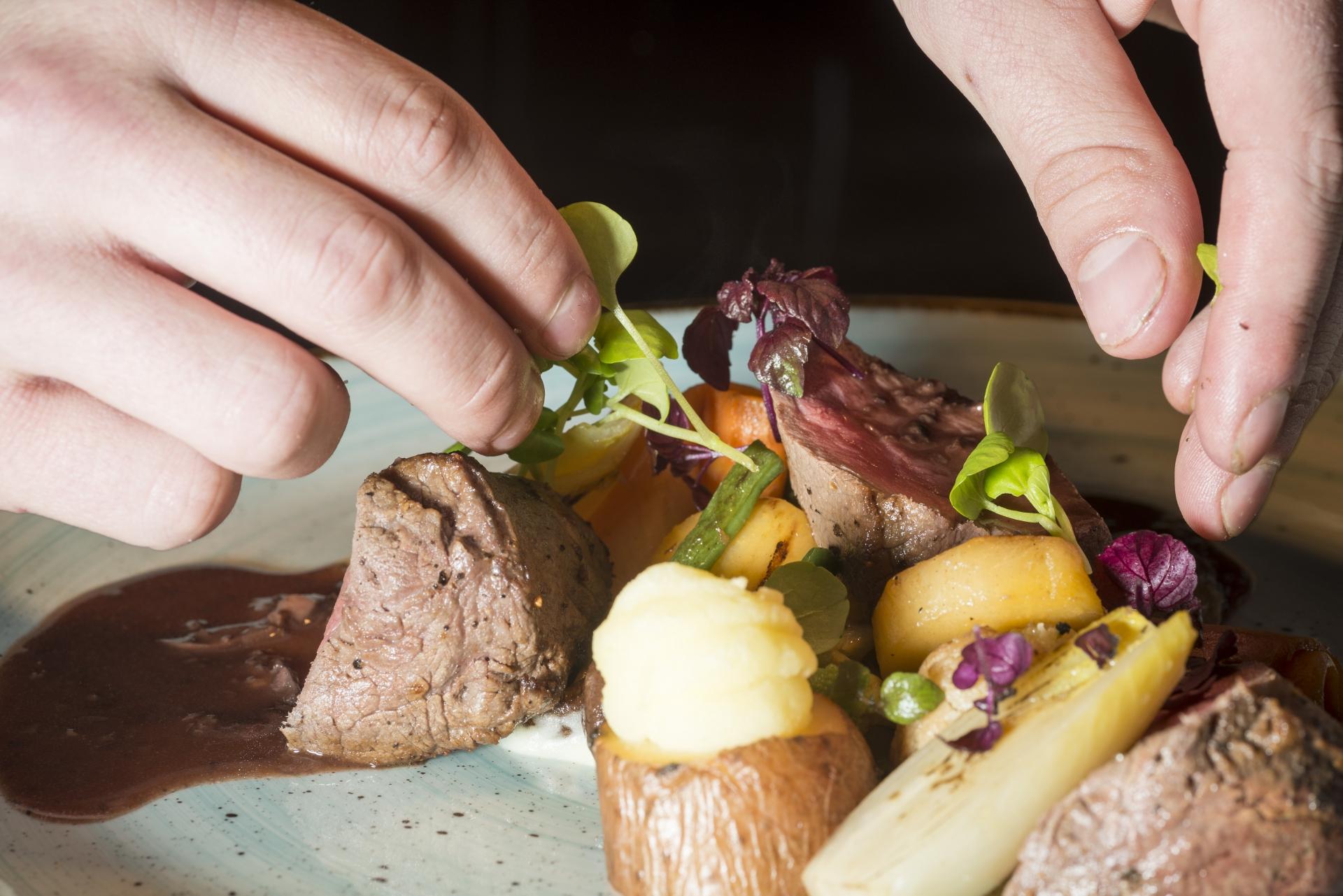 Diner hoofdgerecht Grand café de Heeren van Coevorden
