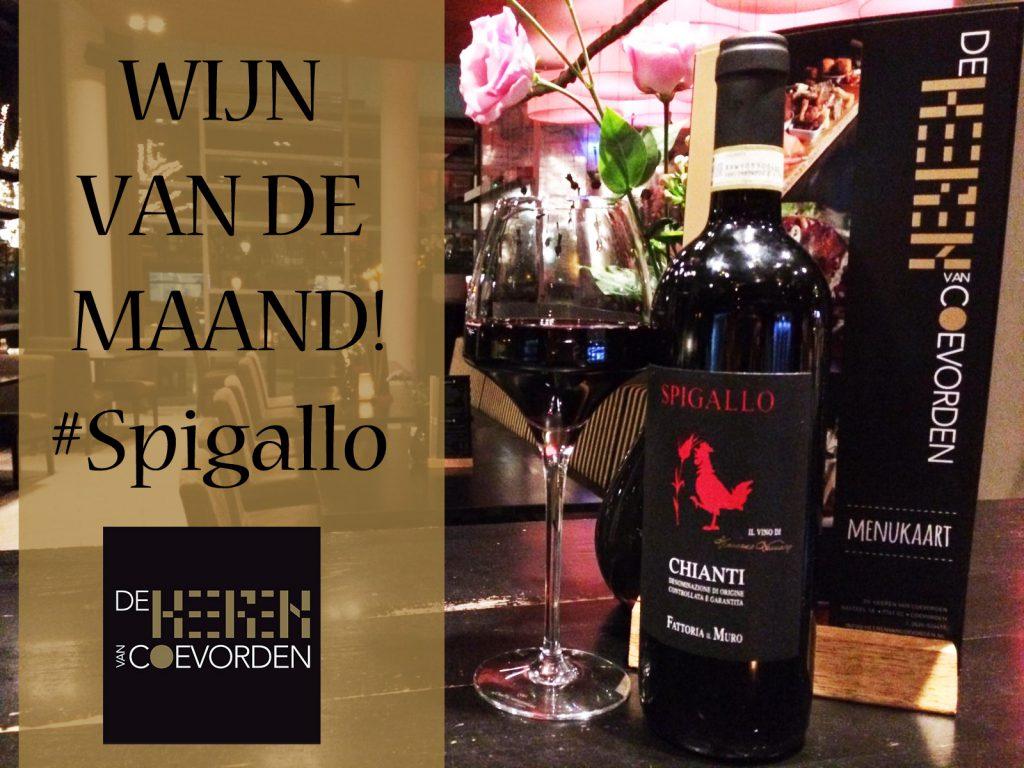 Wijn van de maand februari 2019 Grand café de Heeren van Coevorden