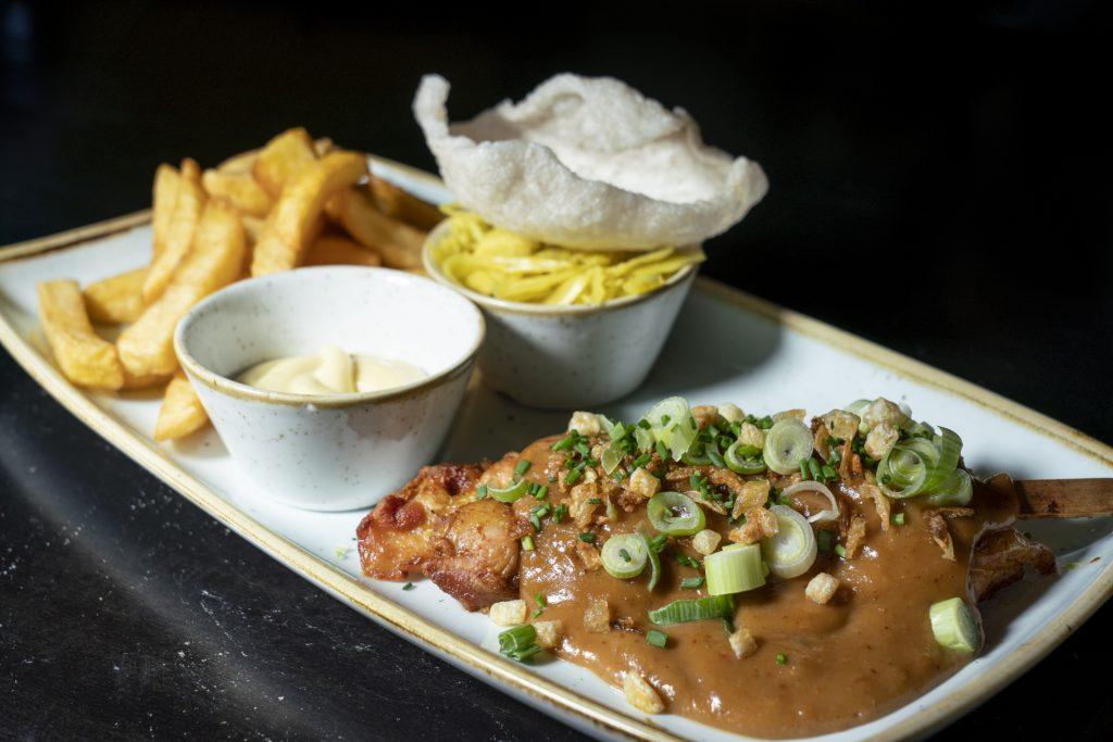 Kipsaté lunch Grand café de Heeren van Coevorden