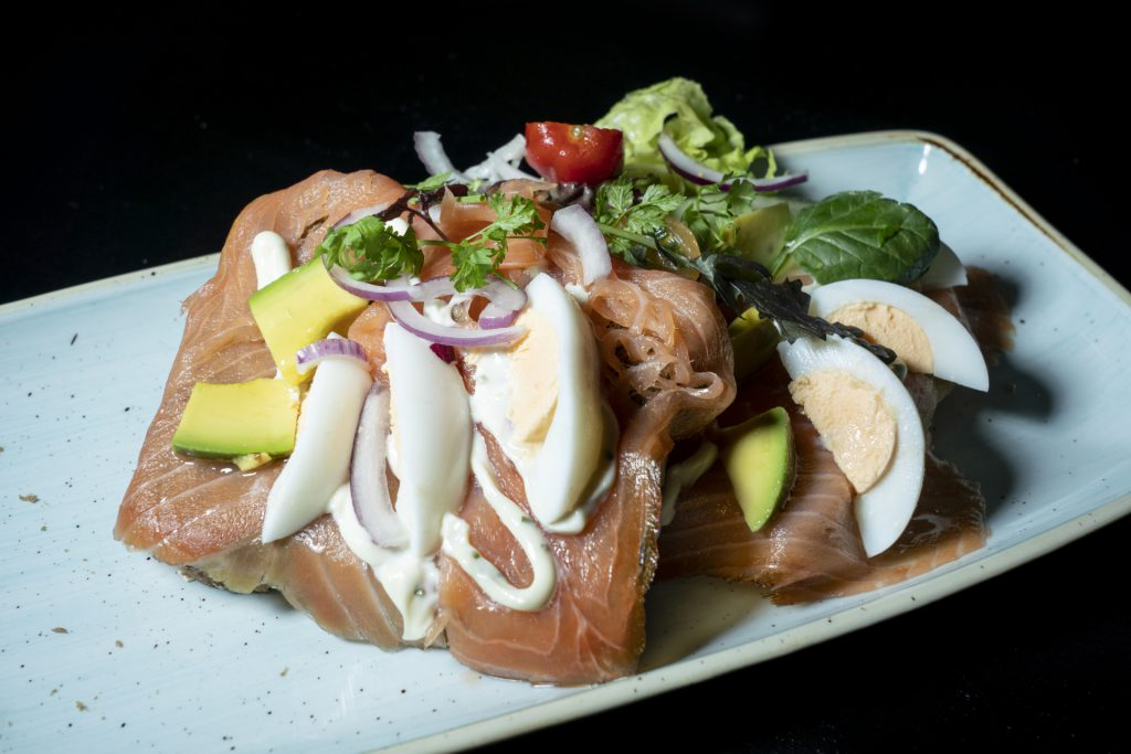 Broodje zalm Grand café de Heeren van Coevorden